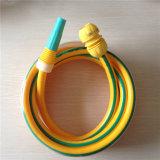 Qualität elastisches PVC-weicher/faserverstärkter/PVC-bunter umsponnener Schlauch