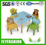 Tabela do estudo da mobília das crianças e cadeira de madeira (SF-21C)