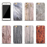 Fragranza Soft Wooden Pattern TPU Cell Phone Caso per il iPhone