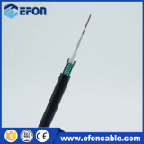 6 ao ar livre cabo ótico da manutenção programada 9/125 de 12 núcleos