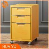 [3-درور] [سهو] غرفة نوم مكتب [ستيل فيلينغ كبينت] ([18-ينش], أصفر)