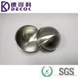 Muffa di alluminio vuota personalizzata della bomba del bagno della sfera mezza