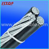 ABC Twisted Cable-Triplex Aluminium Fil de câble Stranded