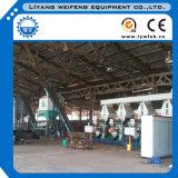 a linha de produção da pelota da madeira de combustível da biomassa 3-5ton/Hr/madeira granula o moinho