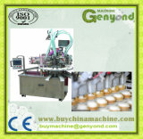 Machine remplissante rotatoire de cachetage de cuvette de crême glacée