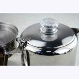 Fogão de aço inoxidável Percolator Classic Espresso Maker