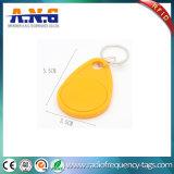 13.56MHz RFID personalizado móvil Keychain con las virutas de NFC