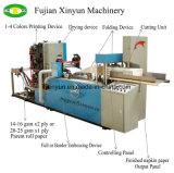 Preço de dobramento automático da máquina do papel de tecido do Serviette da impressão de cor