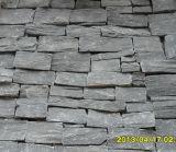 Pedra de fachada exterior com quartzo natural empilhado (SMC-FS040)