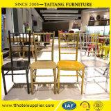 鉄のレンタルアルミニウム椅子のChiavariの椅子のイベント