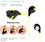 Qy7 Bluetooth van uitstekende kwaliteit 4.1 Hoofdtelefoons van de Muziek van de Sport van de Hoofdtelefoon Stereo