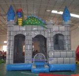 Castello di salto rimbalzante gonfiabile con il gioco di carnevale della trasparenza (B094)