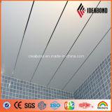 1220 millimètres de largeur d'argent de plafond d'aluminium Acm de décoration