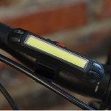 Fahrrad, das hinteres vorderes Fahrrad-Endstück-Licht des Lampen-Licht-120lm rotes des Weiß-LED IP68 nachladbares hinteres reitet