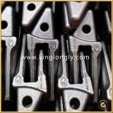 Pièces d'excavatrice de dents de position de pièce forgéee