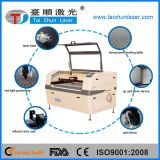 Machine de découpage précieuse de laser de cuir de suède de Hogskin de cuir de vachette