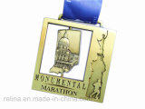 Half su ordinazione Marathon 5k 10k Race Event Finisher Medal (M-114)