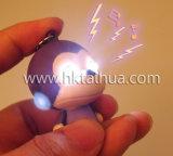 THK008를 가진 빛과 소리 귀여운 원숭이 LED Keychain