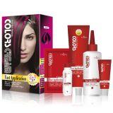 Tazol cosméticos destaca color de pelo (melocotón) (60 ml * 2 + 30 ml + 60 ml + 10 ml)