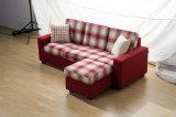 Base mutável do sofá: Assentos de Chaise+Two/três assentos com tabela de chá