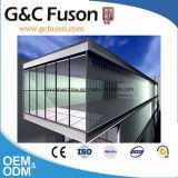 Prezzo di vetro di alluminio della parete divisoria del rivestimento di potere