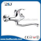 Mezclador de cerámica del grifo de la ducha del latón de cartucho del regulador del agua