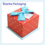 Caixa de papel do presente superior luxuoso de Wholsales para o casamento/Natal/Valentim
