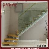 Inox Barandilla de madera Escalera recta (DMS-4023)