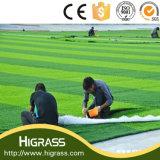 Higrassの農産物の静かに耐久の反紫外線擬似サッカーのフットボールの総合的な人工的な泥炭の価格