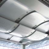 L'aluminium irrégulier a ondulé le plafond pour la construction à la mode