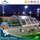 Basketballホールのための20mx35m Water Resistant Polygon Shape Sport Tent