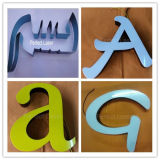 Letra de publicidade de aço inoxidável em aço inoxidável Máquina de dobra de carta automática CNC