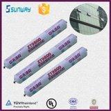 Puate d'étanchéité structurale adhésive de silicones pour la glace et l'aluminium