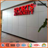 Foshanpvdf enduisant la vente de publicité composée en aluminium de panneau de 5mm des fournisseurs de la Chine