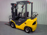 Container Mast와 Side Shift를 가진 유엔 1.5t LPG/Gasoline Forklift