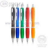 De plastic Ballpoint JM-6001d van de Giften van de Bevordering met Één Aanraking van de Naald