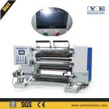 China Rebobinadora de cortadora de papel de película de plástico con sistema EPC