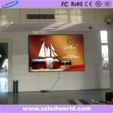 Panneau polychrome fixe extérieur/d'intérieur d'Afficheur LED pour la publicité d'écran visuelle (P3, P4, P5, P6)