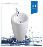 Dispersore di ceramica della lavata del bacino di basamento della lavata di Weidansi (WDS-P7102)