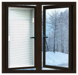 걸리는 알루미늄 측 또는 분말 코팅 양극 처리 알루미늄 프레임을%s 가진 여닫이 창 Windows
