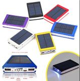 Banco duplo Backup Battery do USB Portable Solar Power para Mobile Phone