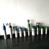 Cilindro de aluminio médico/industrial 9L de la venta caliente de oxígeno