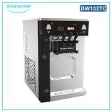 容量32L/Hの機械(DW132TC)を作るソフトクリーム