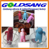 Removable Hands를 가진 대중적인 Selling Lazy Mr. Tea Silicone Tea Infuser