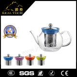 Neuer Borosilicat-Glas-Teekanne-ungeheftet-Tee-Hersteller der Ankunfts-2016 mit Edelstahl Infuser