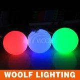 Mudança de cor de controle remoto LED Decoração Ball Light