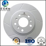 Audi를 위한 ISO9001 OEM Vented Disc Brake Rotor Fit