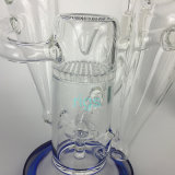 De groene Verpakte pijp van het Glas van de Waterpijp van het Booreiland van de SCHAR van de Recycleermachine
