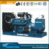 275kVA se abren/generador diesel eléctrico silencioso de Doosan accionado por Engine P126ti