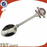 Изготовленный на заказ Logo Souvenir Crafts Metal Spoon для Gifts (FTSS2919A)